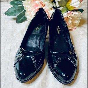 🖤Cole Haan🖤Black Patent leather wedge Heels